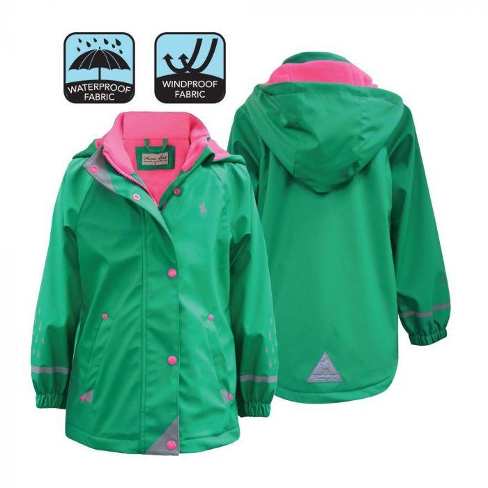Thomas Cook Girls Reflective Raincoat