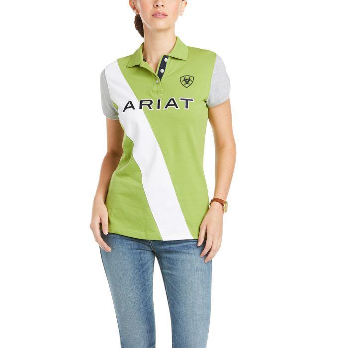 Ariat Ladies Taryn Polo Shirt -  Peridot