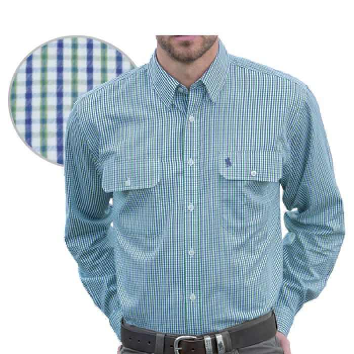 Thomas Cook Wentworth Long Sleeve Shirt -  S Only