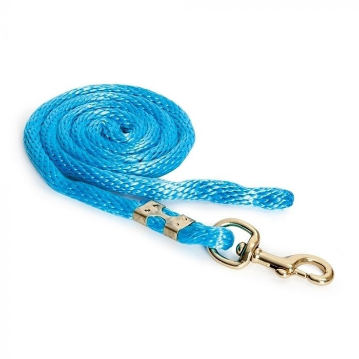 Shires Topaz Lead Rope - Blue