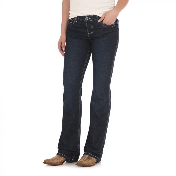 Wrangler Womens Ultimate Riding Jean - Q-Baby WRQ20DM34