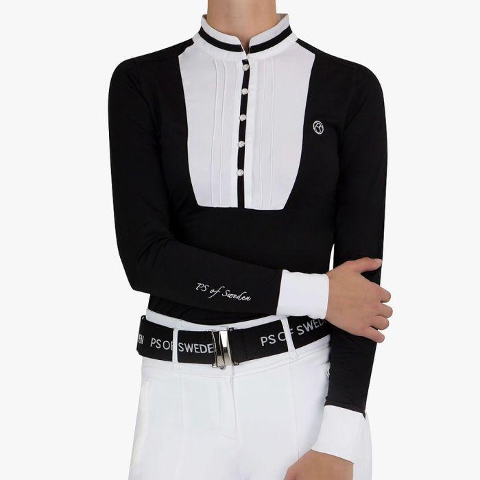 PSOS Competition Shirt Vendela - Black & White