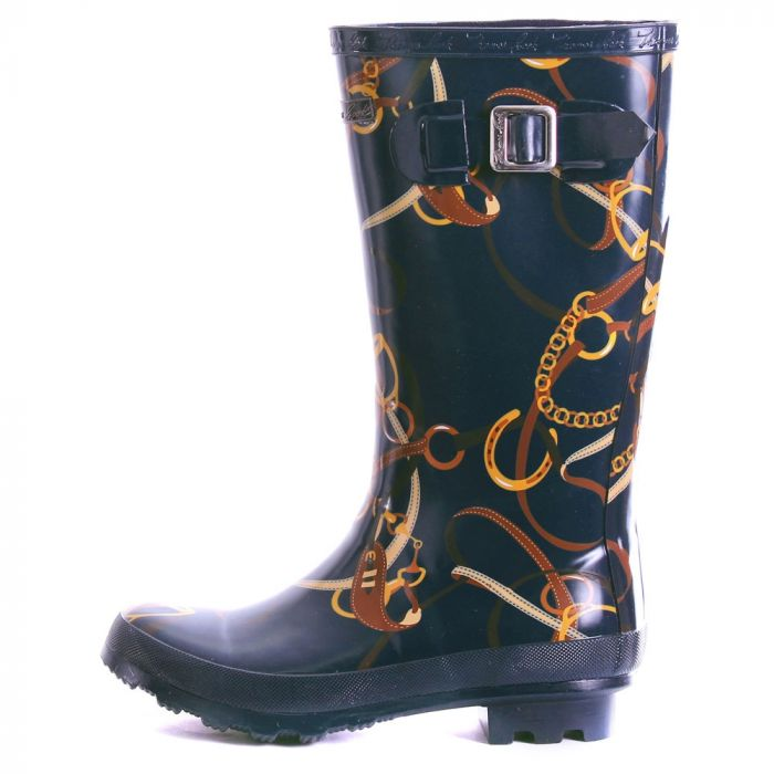 Deloraine Wellies by Thomas Cook Navy Bit - Side