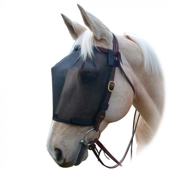 Wild Horse Black Mesh Rider Fly Veil