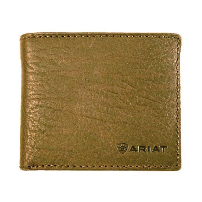 Ariat Men's Bifold  Wallet - Dark Brown
