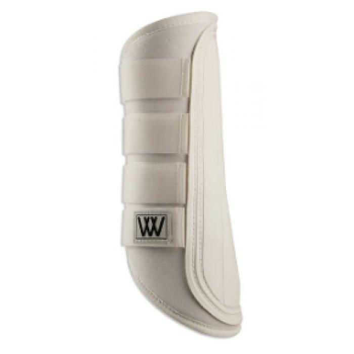 Woof Wear Single Lock Brushing Boot - White