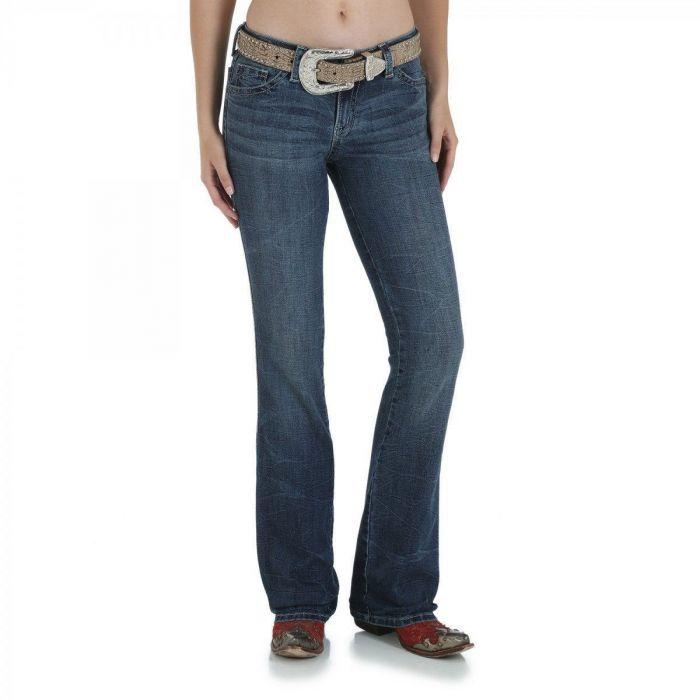 "WRANGLER Women's Rock 47 ""WJX36ST"" Sits Above Hip Jean"