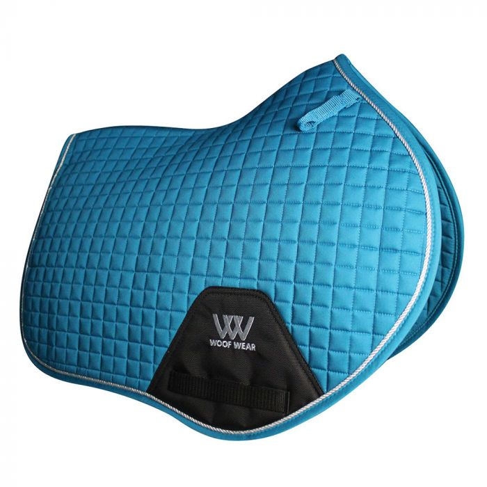 Woof Wear Close Contact Saddle Cloth - Turquoise
