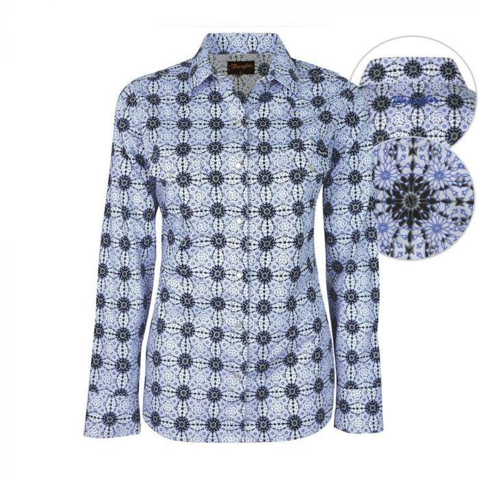 Wrangler Women's Ada Print Shirt