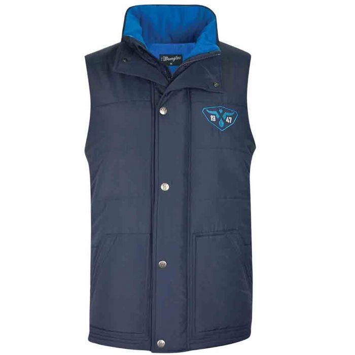 Wrangler Mens Rowe Vest