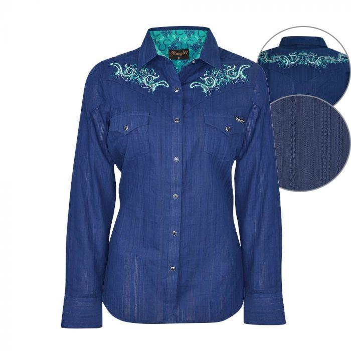 Wrangler Women's Louisa L/S Shirt