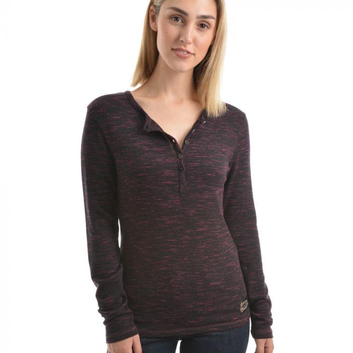 Wrangler Women's Zaylee Long Sleeve Top